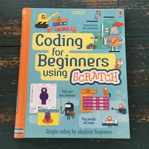 Coding for Beginners Scratch Hard Cover Book NEW
